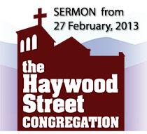 Haywood Logo Sermon